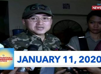 Balitanghali Weekend Express: January 11, 2020 [HD]