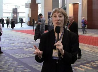 Dr. Marion Ehrich at the Society of Toxicology