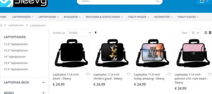 laptoptas 15,6 inch